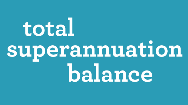 total superannuation balance