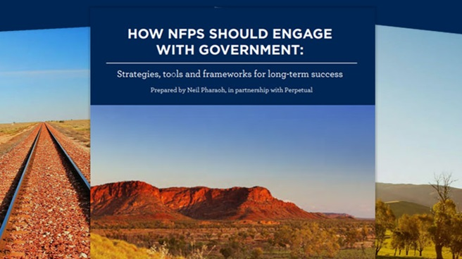 How NFPs should engage with Government