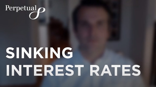 Sinking interest rates